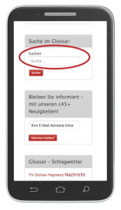 connect glossar mobile Ansicht 3