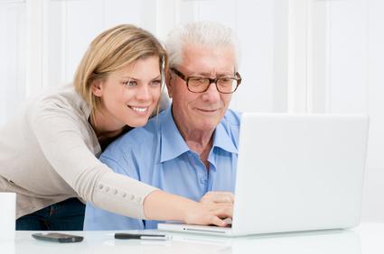 Die deutsche Online-Gemeinde wächst - dank der Älteren