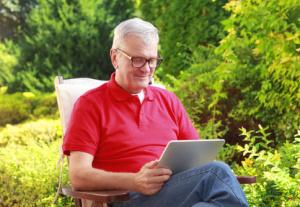 Tablet für Senioren