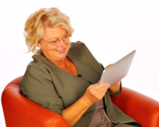 Mit dem iPad ein E-Book lesen