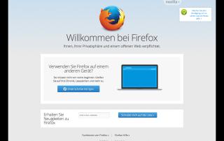 Browser Firefox Abbildung