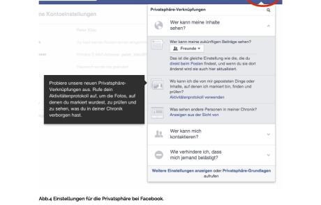 Facebook Anleitung Privatsphäre-Einstellungen