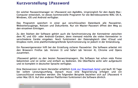1Password Anleitung deutsch Abb1