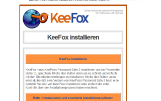 KeePass - Anleitung - connect45plus