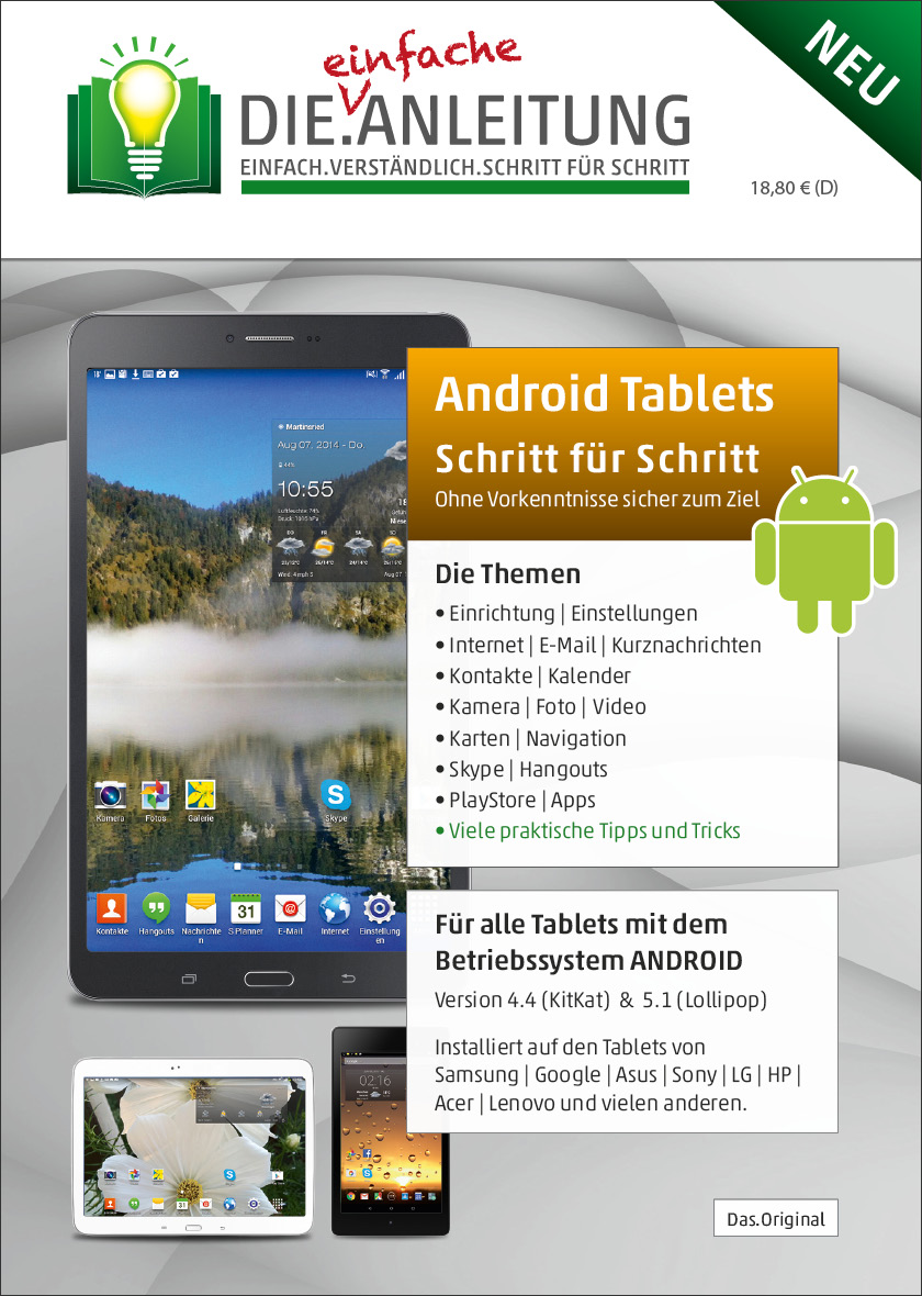 Die.Anleitung Android Tablet