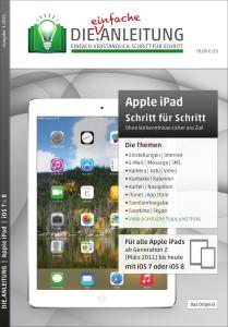 Apple iPad Die.Anleitung Cover