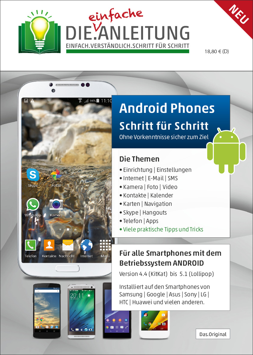 Die.Anleitung Android Smartphone