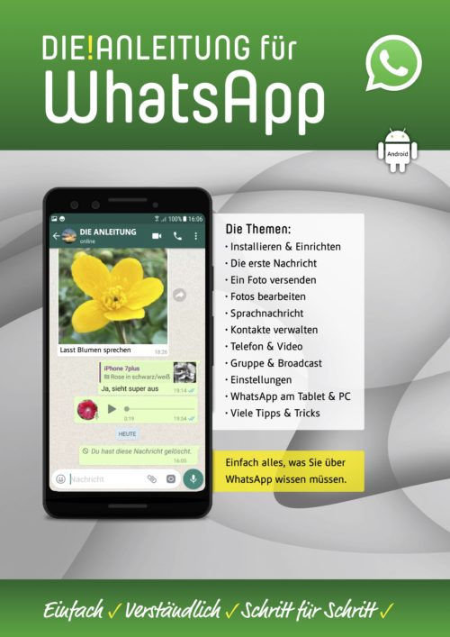 WhatsApp Anleitung Android Handy