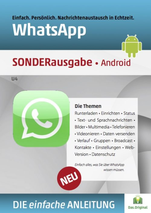 WhatsApp Anleitung - Android