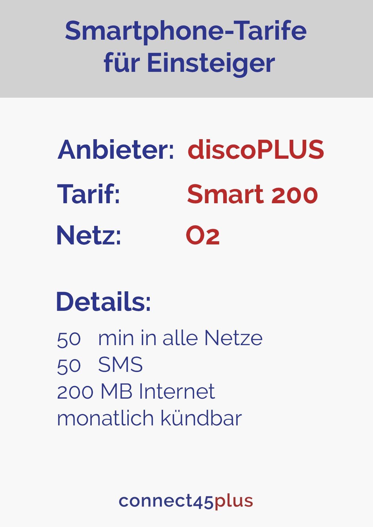 Tarif Smart 200 O2