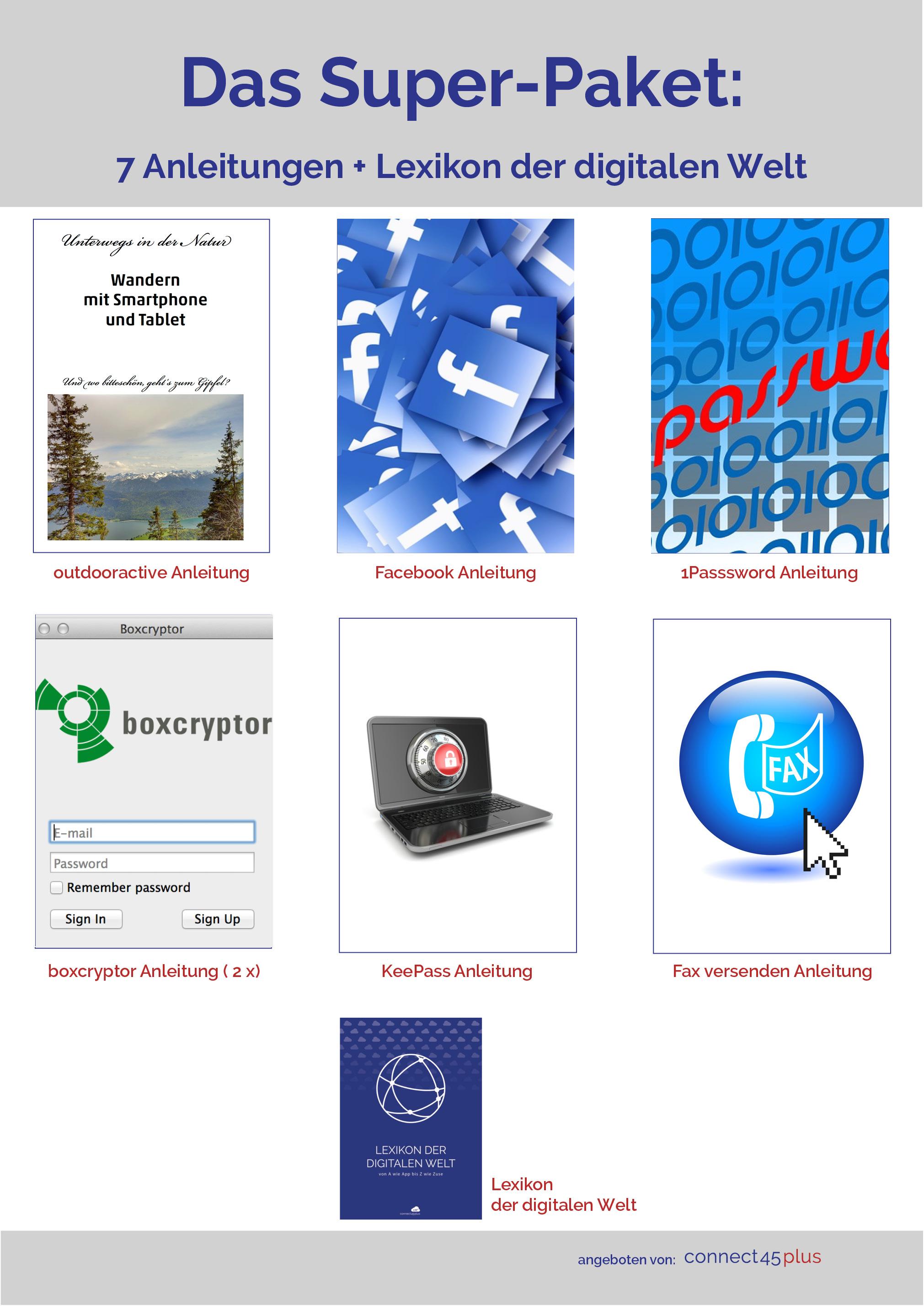 7 Anleitungen + Lexikon der digitalen Welt