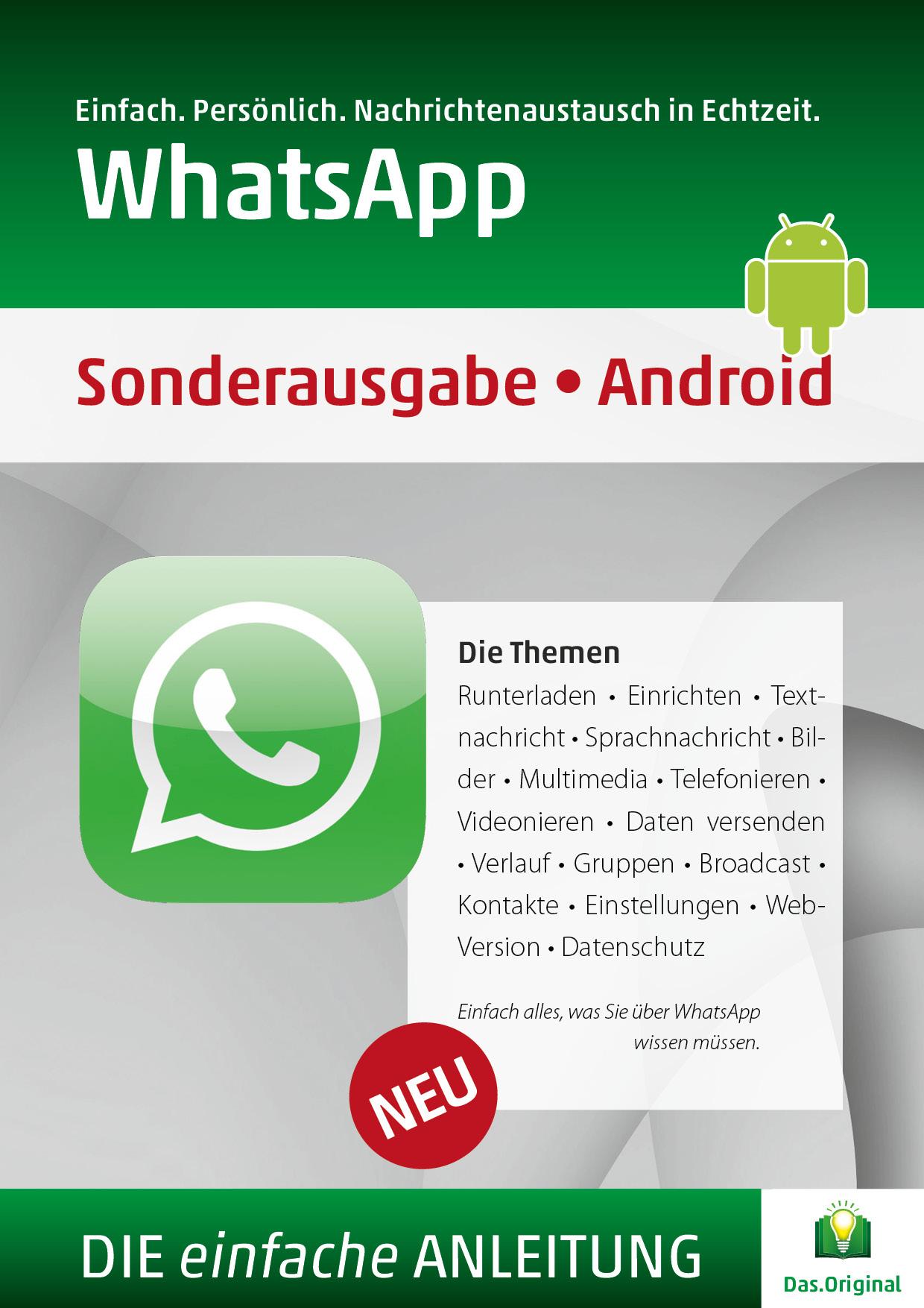 Die Anleitung für WhatsApp Android