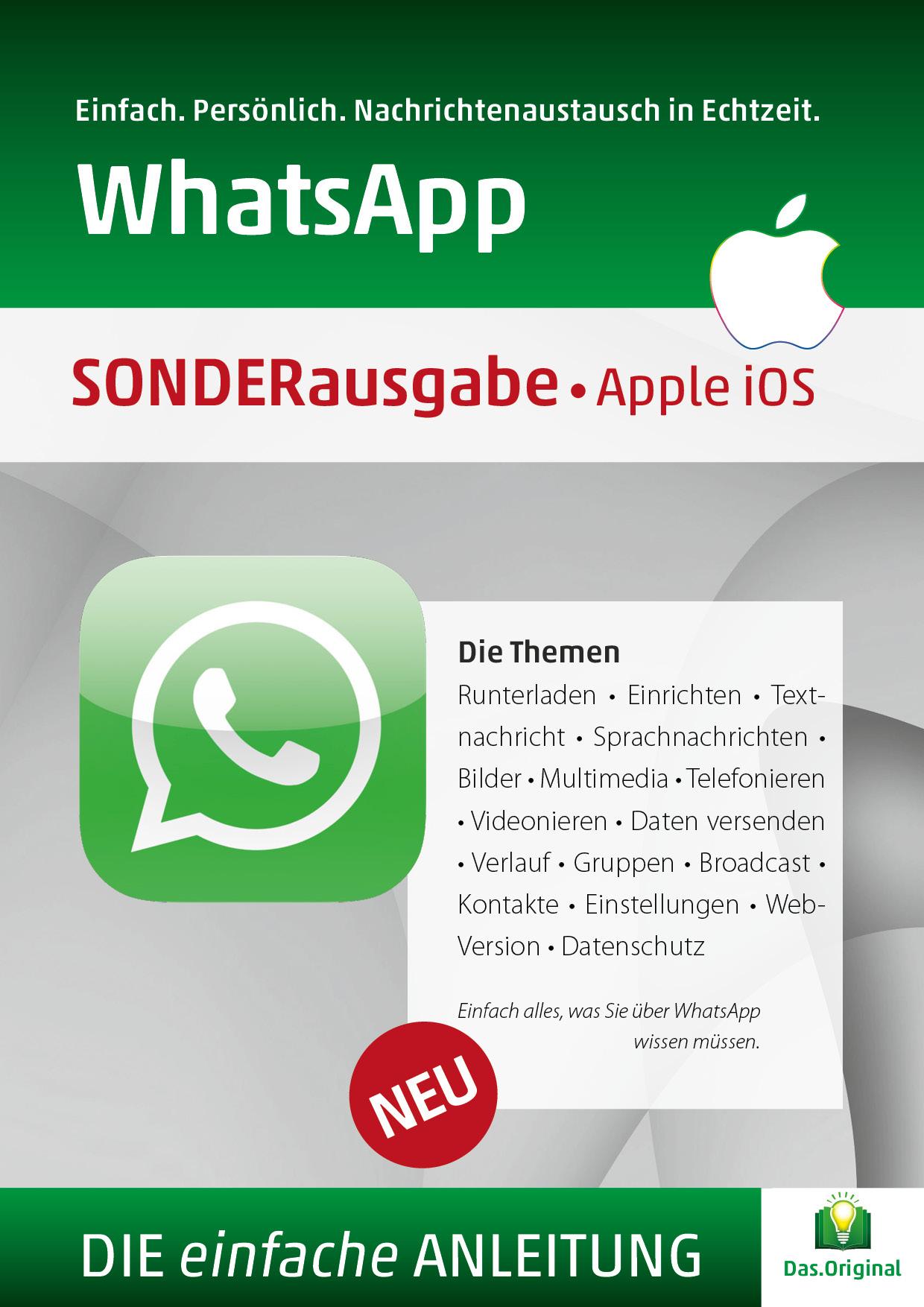 Die Anleitung für WhatsApp Apple
