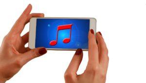 Smartphone Hörbuch MP3