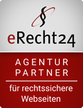 erecht24-siegel-agenturpartner-rot