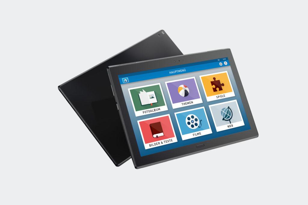 Media4Care Familien Tablet
