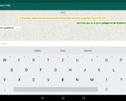 Abb 14 - WhatsApp am Tablet benutzen