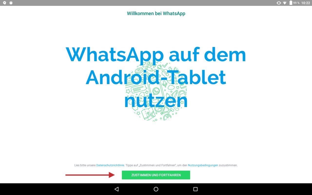 Whatsapp Für Tablets Mit Festnetznr Oder Whatsapp Web Anleitung