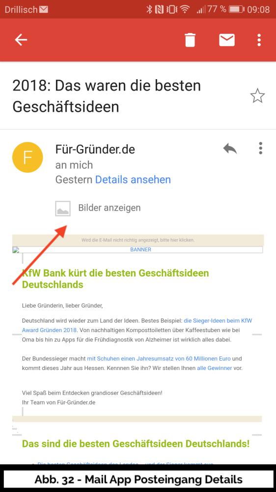 Abb 32 Mail Detail