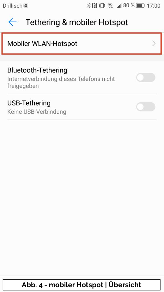 Abb 4 - mobiler Hotspot