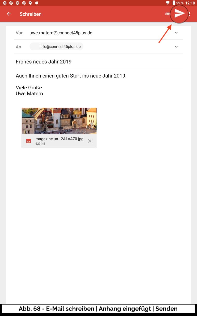 Abb 68 - E-Mail schreiben komplett